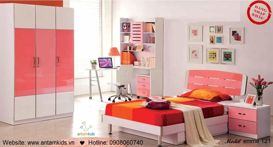 Phòng ngủ cho bé Emme 121 đẹp thiên thần | PHONG TRE EM ANTAMKIDS