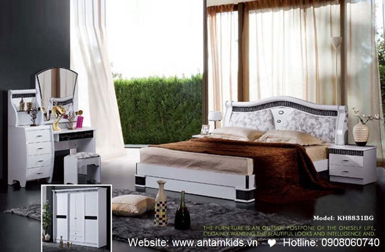 Phòng ngủ KH8831 đẹp & sang trọng   Noi That Phong Ngu AnTamKids