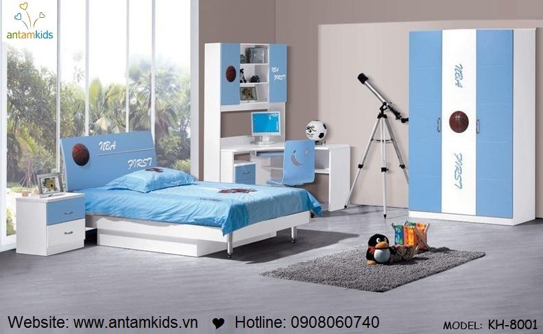 Phòng ngủ trẻ em KH-8001đẹp thiên thần | PHONG TRE EM ANTAMKIDS