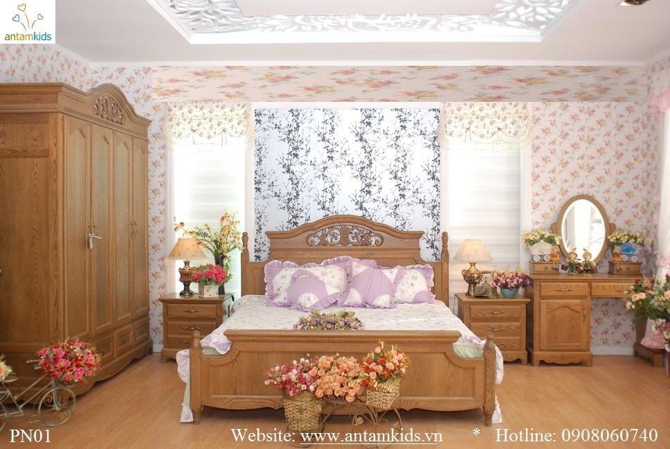 Phòng cưới PN01 đẹp & sang trọng | Noi That Phong Ngu AnTamKids