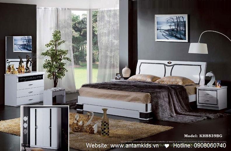 Phòng ngủ KH8839 đẹp & sang trọng   Noi That Phong Ngu AnTamKids