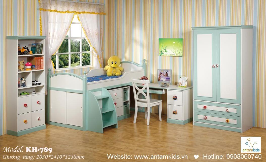 Giường tầng trẻ em KH789