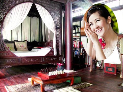 Nội thất phòng ngủ vừa tao nhã, vừa thanh lịch, đẹp kiêu sa của Diva Hồng Nhung - AnTamKids.vn