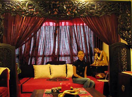 Phòng ngủ huyền bí mang không gian thiền của Ngô Thanh Vân - AnTamKids.vn
