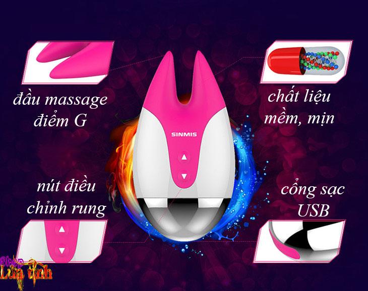 Massage điểm G 2 in 1 Mango&Seco Nalone  - DC54D