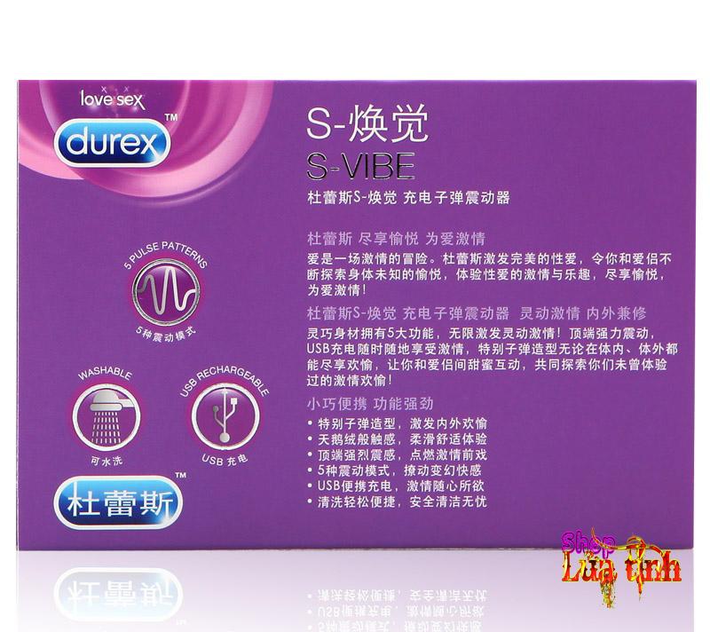 Trứng rung cao cấp S-Viber Durex - MS25D
