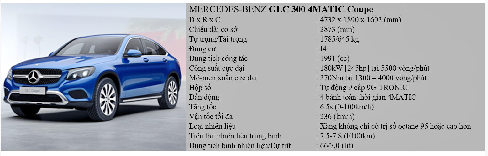 Mercedes glc 300 coupe 4matic - 1