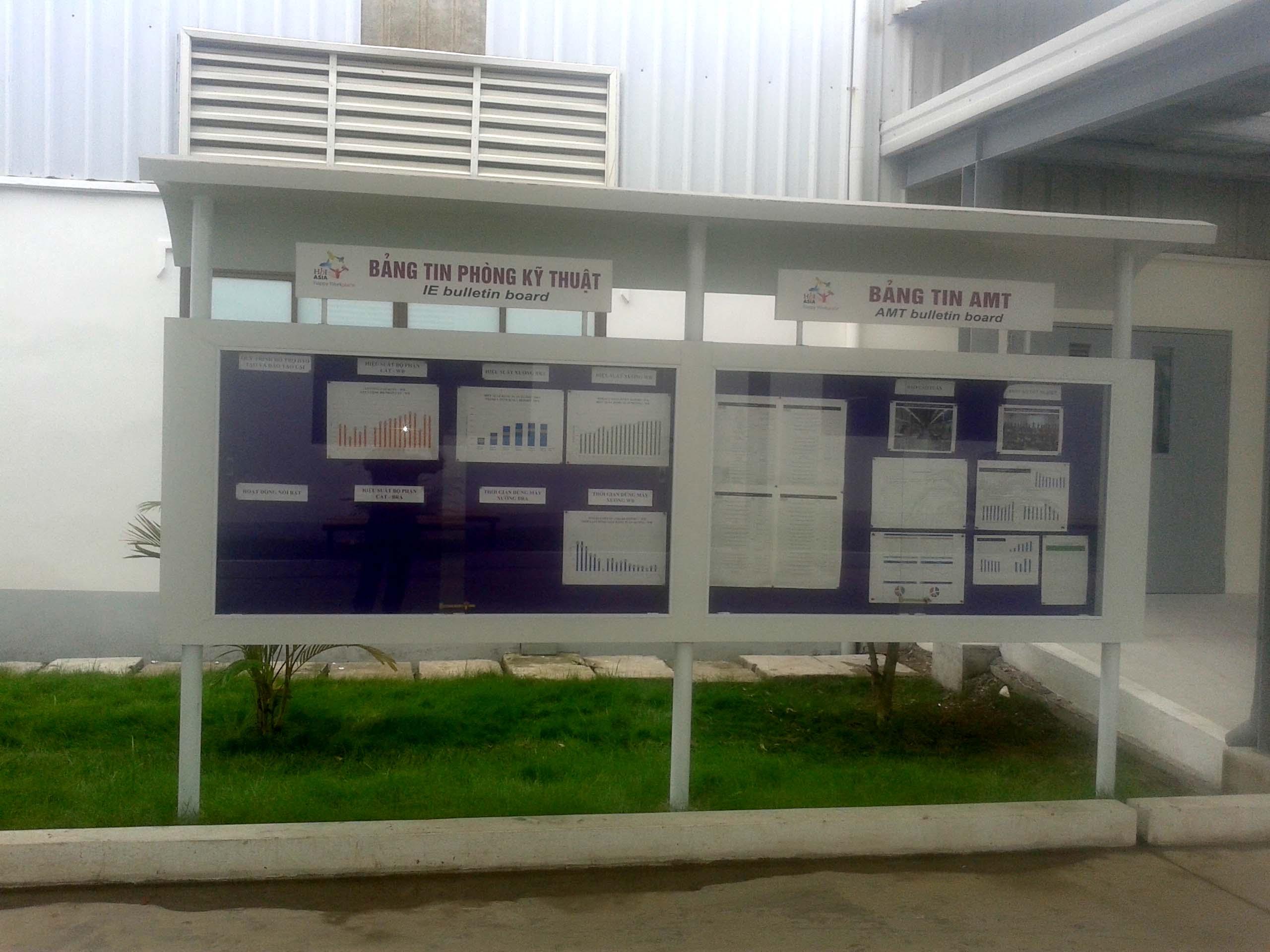bảng tin nhà máy