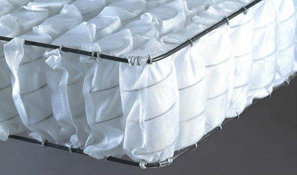 Hệ thống lò xo túi độc lập được sử dụng trong đệm lò xo cao cấp