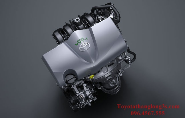 Động cơ xe toyota yaris 2017