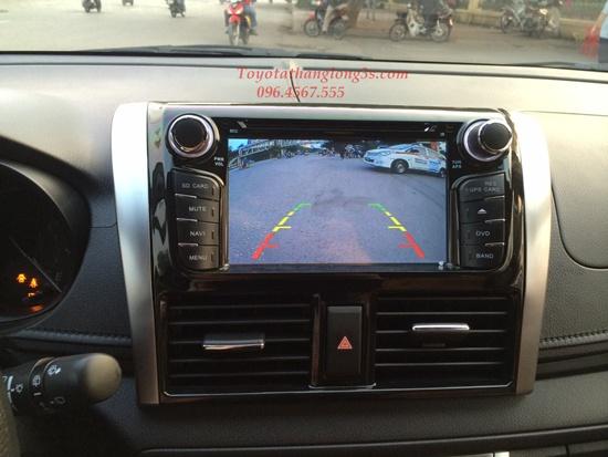 màn hình DVD theo xe Yaris