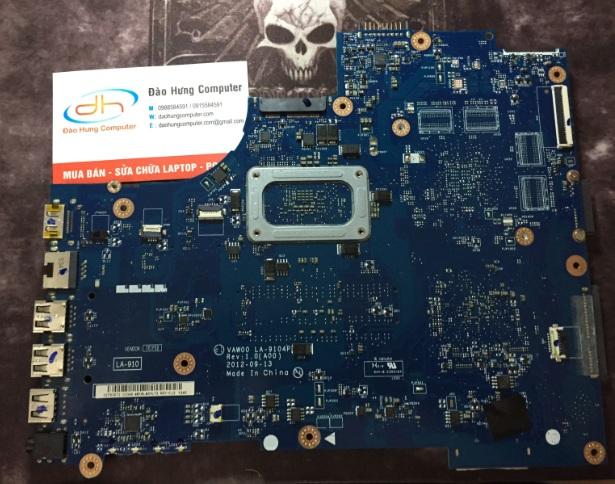 Mainboard Dell inspiron 3437 share mặt sau