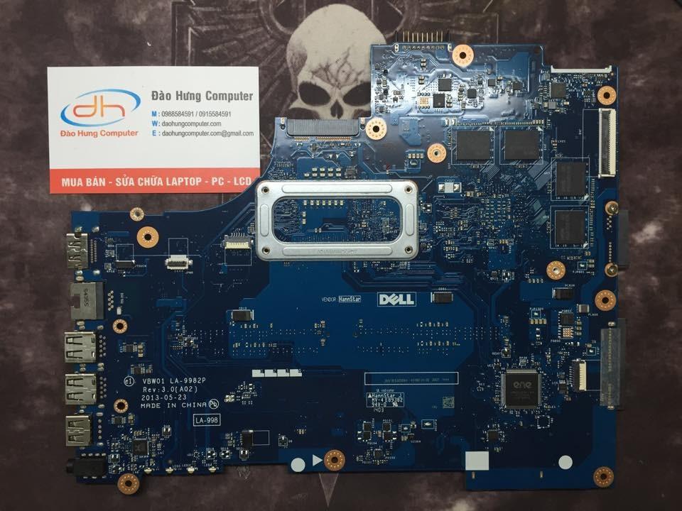 Mainboard Dell Inspiron 3537 vga rời mặt sau