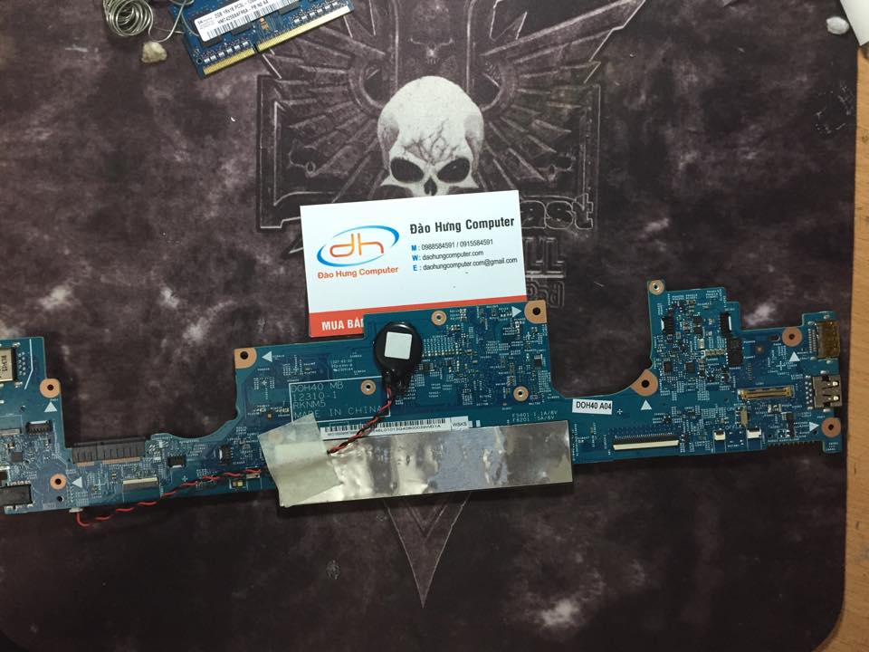 Mainboard Dell inspiron 15 7537 i5 mặt sau