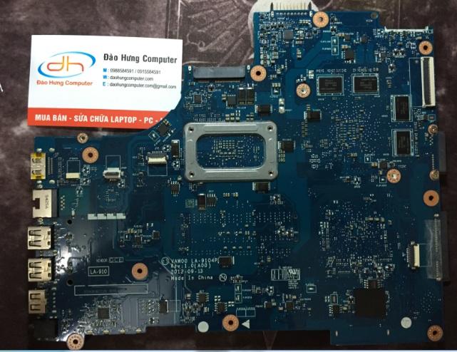 Mainboard Dell inspiron 3521 Vga rời mặt sau