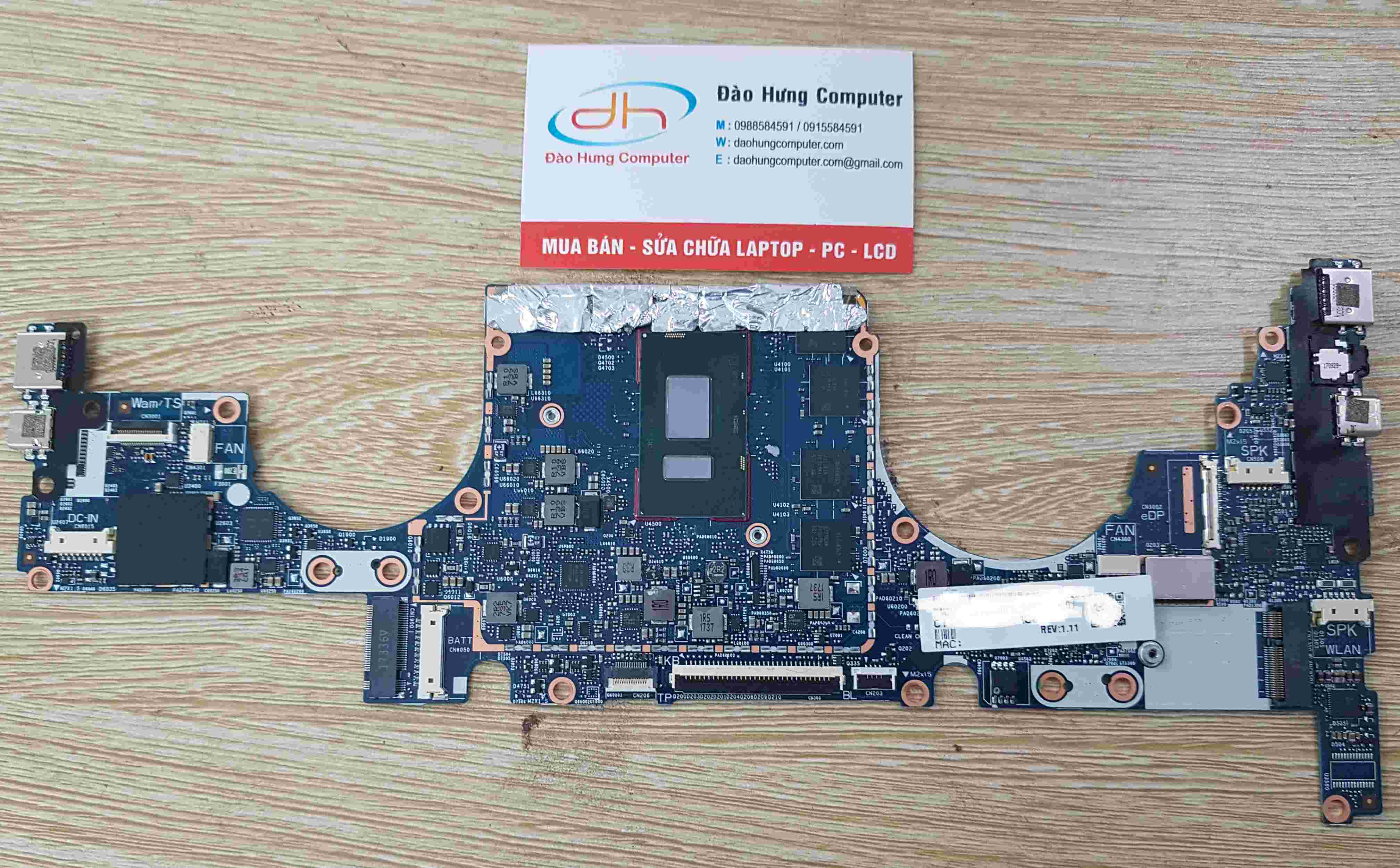 Mainboard Hp Envy 13-AD core i7 8550U NEW