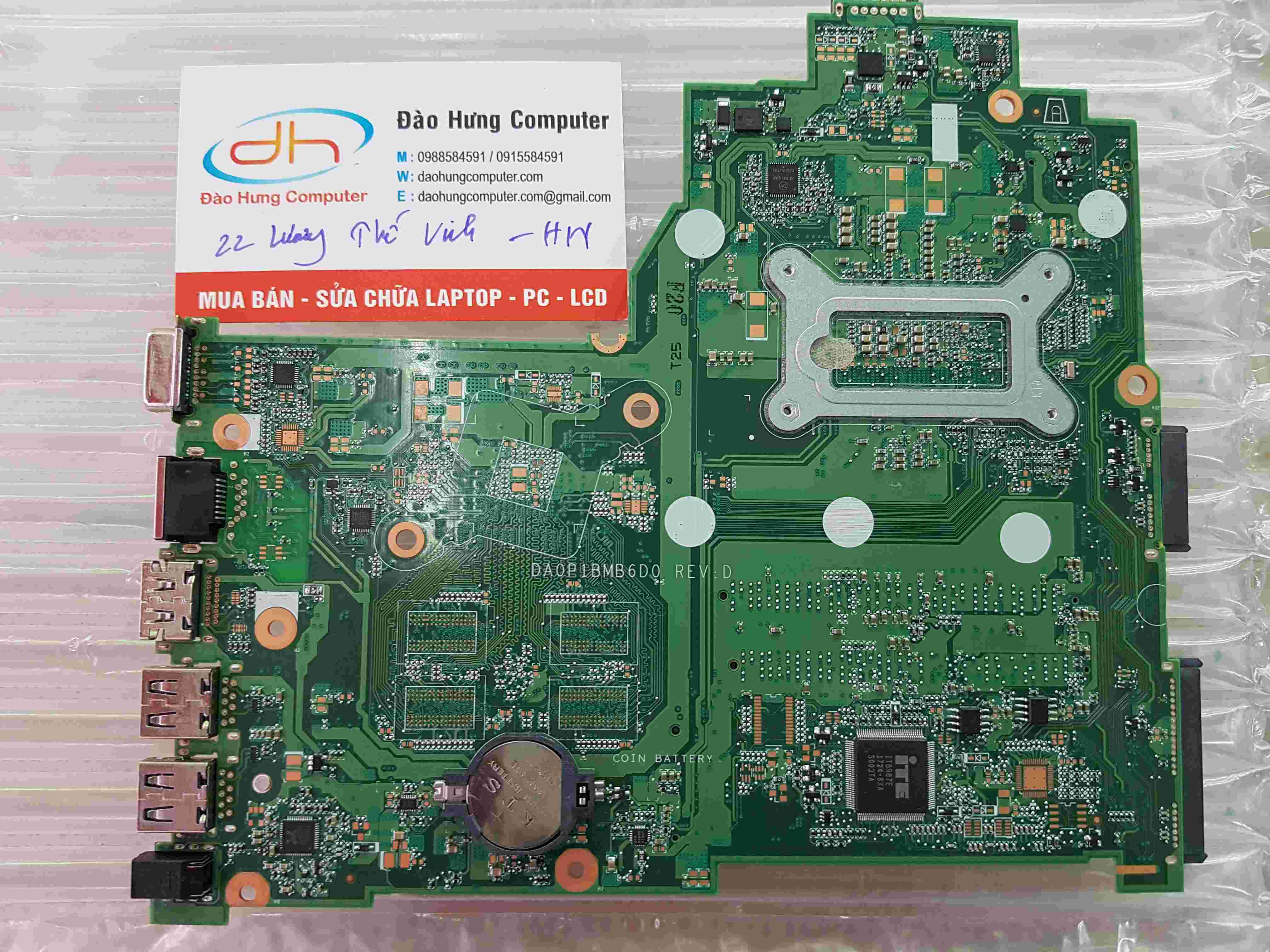 Mainboard Hp 14-BS Core i5 -8250u New DA0P1BMB6D0