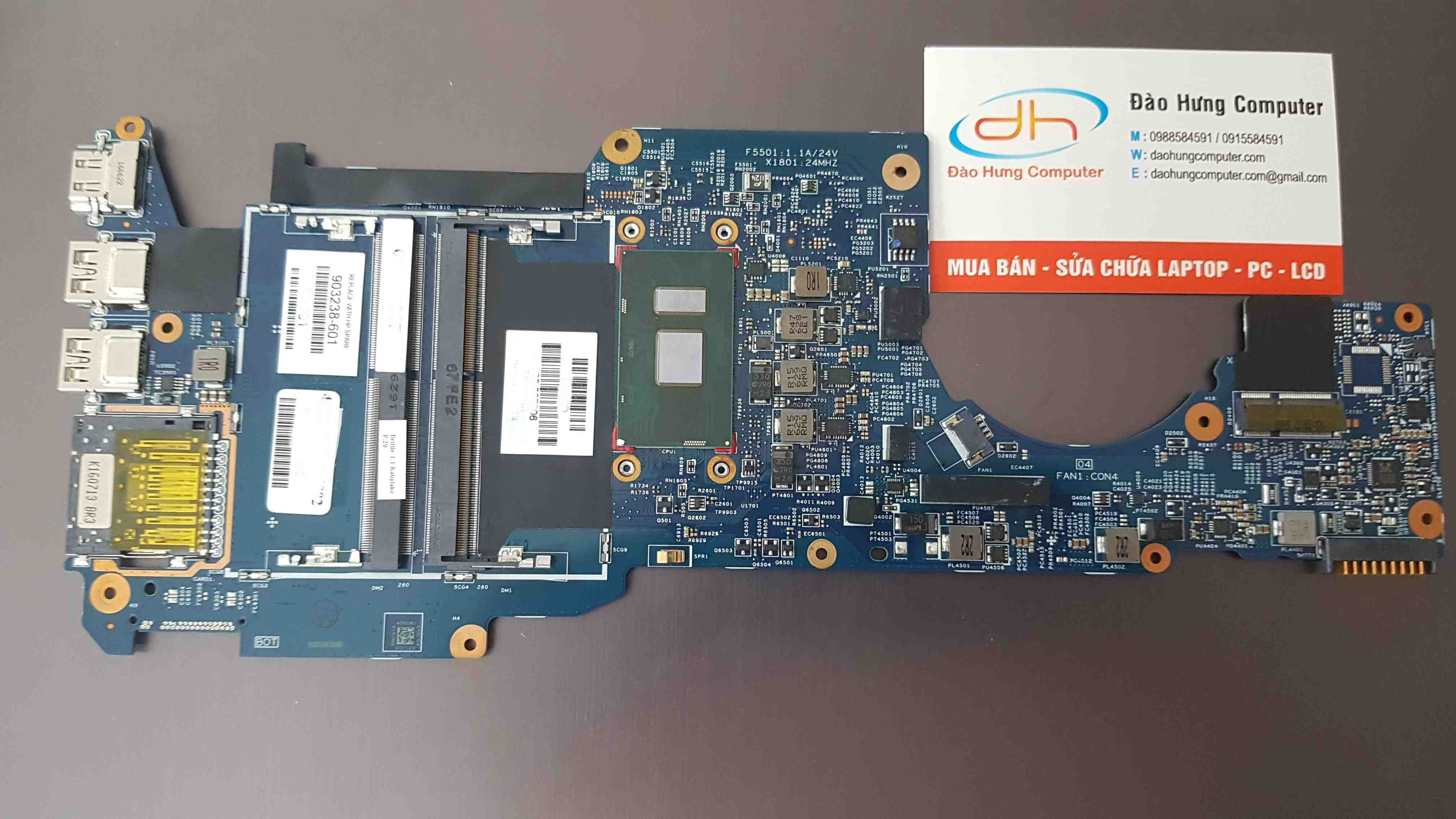Mainboard HP Pavilon X360 M3-U core i5 7200u Mã Main 15256-1