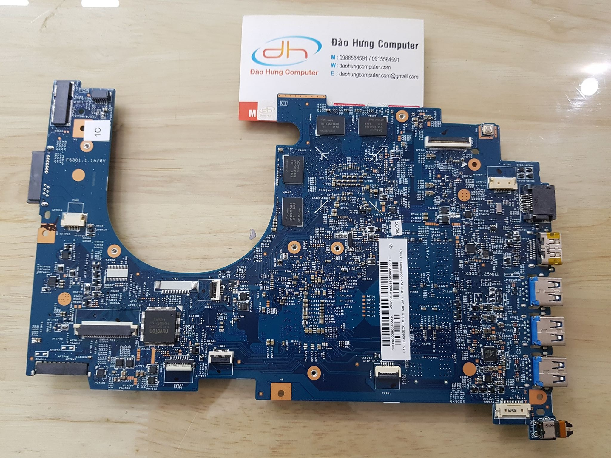 Mainboard Acer Nitro VN7 571G Core i5 5200U GT940M - 14205-1