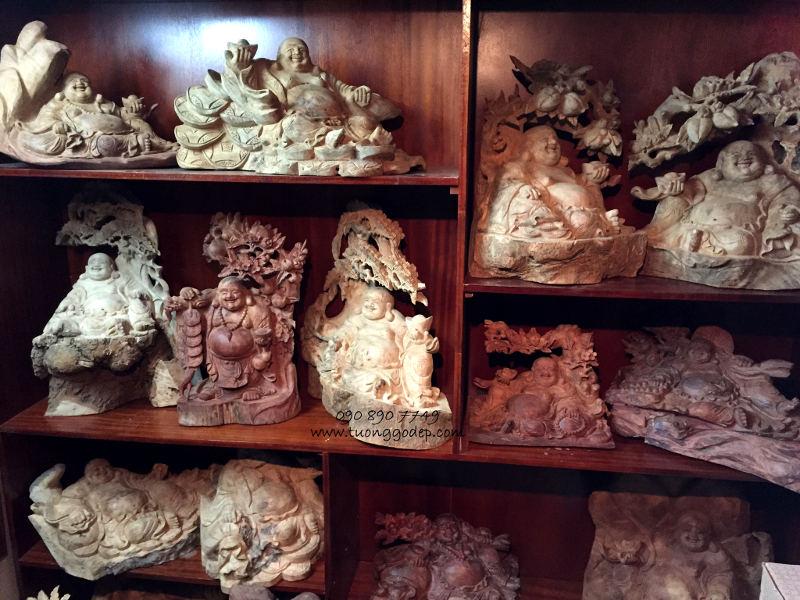 Phật Di Lặc gỗ quý