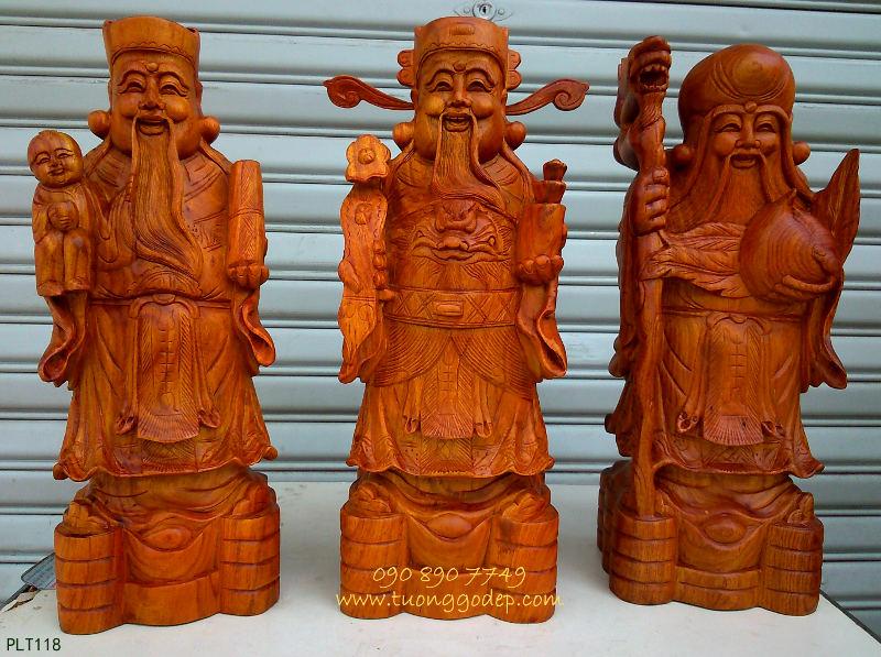 Phúc Thọ Lộc gỗ hương