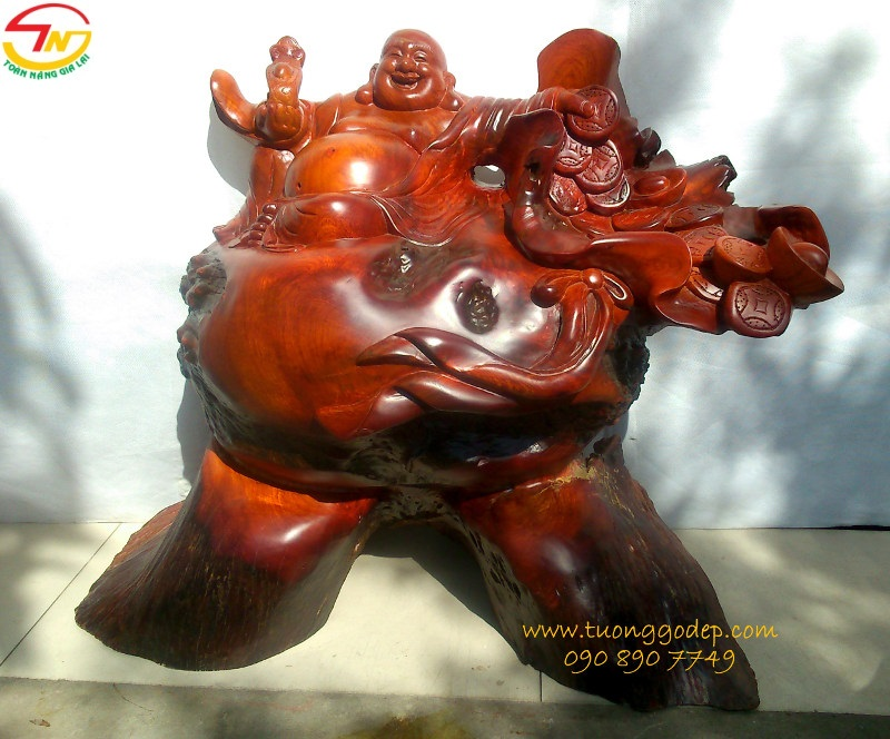 Tượng Phật Di Lặc có một không hai