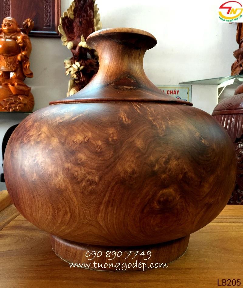 Lục bình gỗ nu hương