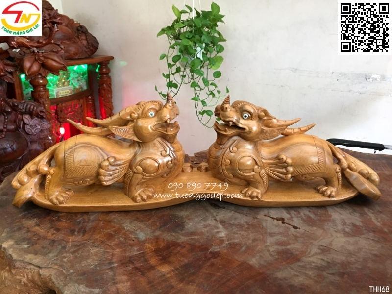 Tỳ hưu bằng gỗ quý