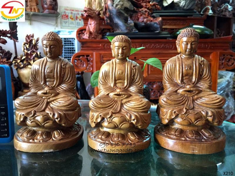 Tượng Phật Thích Ca để xe ôto