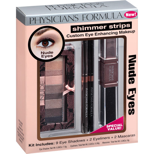 Set Shimmer Strips Custom Eye Enhancing Makeup Kit Physicians Formula