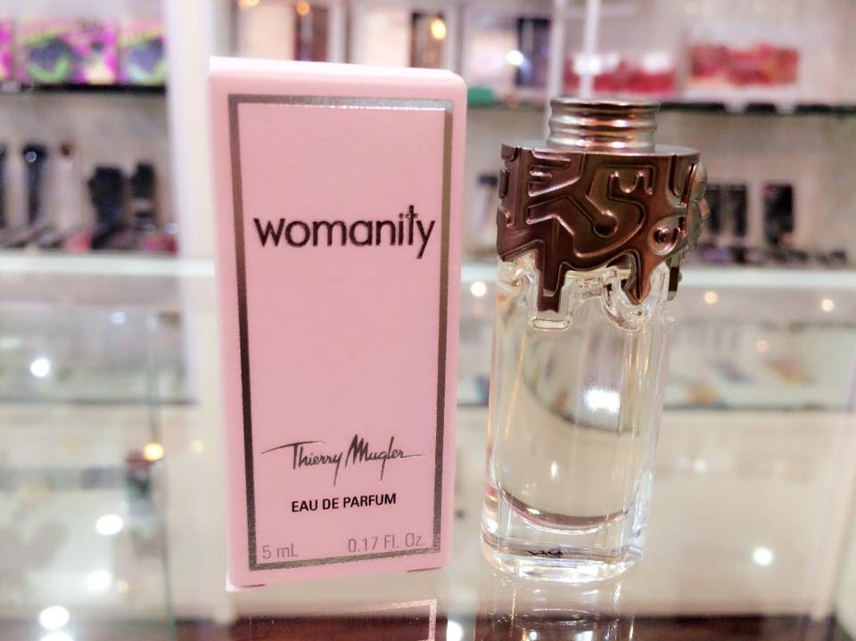 Womanity by Thierry Mugler, 0.17 oz Mini EDP for Women