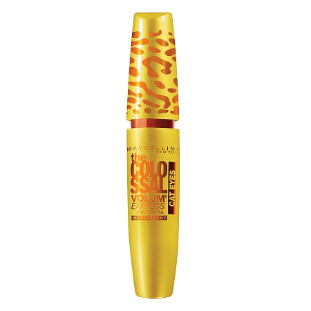 Mascara Maybelline Volum' Express Colossal Cat Eyes Waterproof Mascara Glam Black