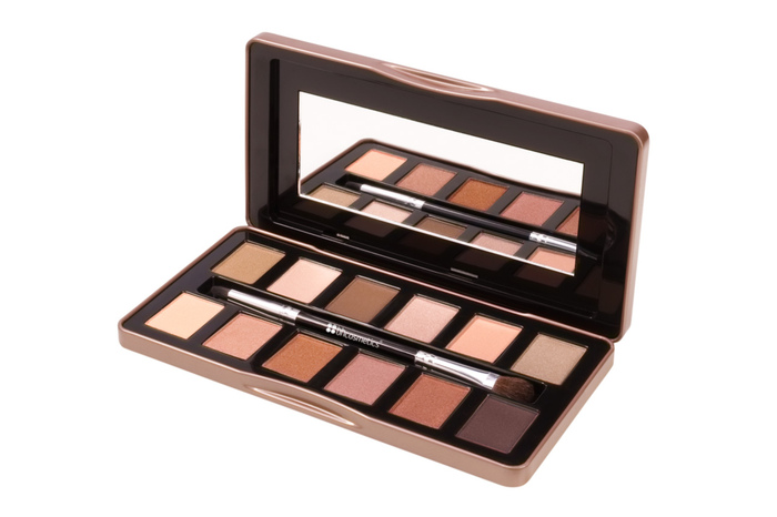 Phấn mắt BH Cosmetic Nude Rose – 12 Color Eyeshadow Palette