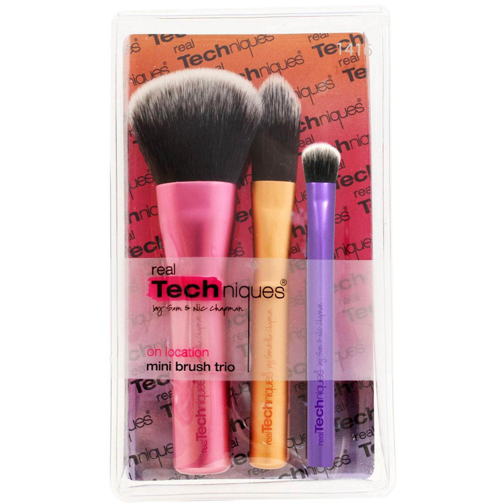 Bộ Cọ Real Techniques Mini Brush Trio