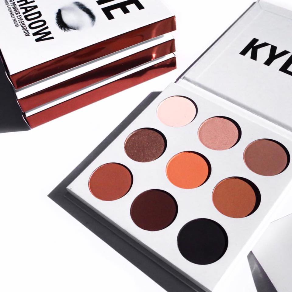 Bảng phấn mắt Kylie THE BRONZE PALETTE | KYSHADOW
