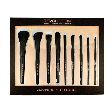 Bộ cọ 9 cây Makeup Revolution 9 Piece Amazing Brush Collection