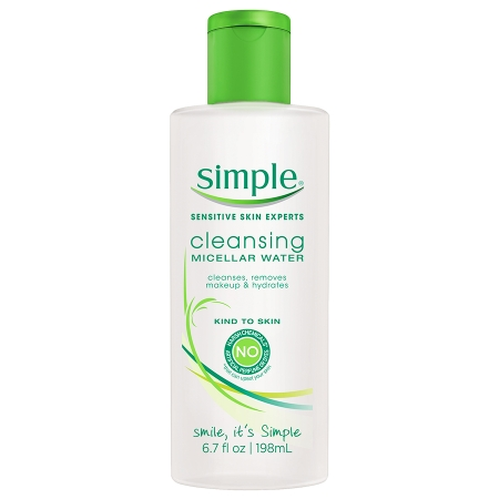 Tẩy Trang Mặt Simple Cleansing Micellar Water