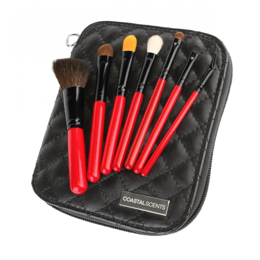 Bộ Cọ Coastal Scents CiTiSCAPE Travel Brush Set