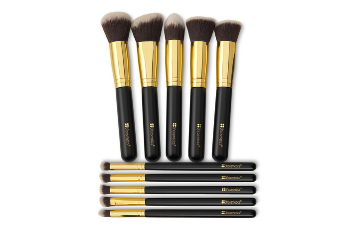 Bộ Cọ BH Cosmetic 10 pc Sculpt and Blend Brush Set