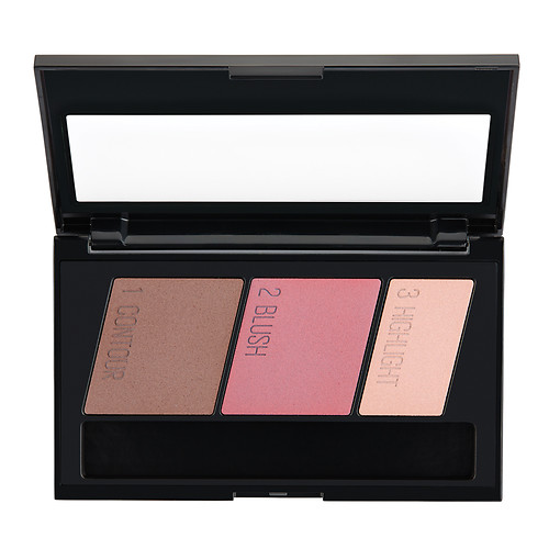 Bảng phấn má - hight light - tạo khối Maybelline Facestudio Master Contour Compact, Light to Medium