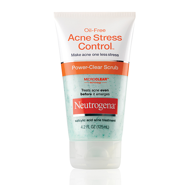 Sữa rửa mặt Neutrogena Oil-Free Acne Stress Control Power-Cream Scrub