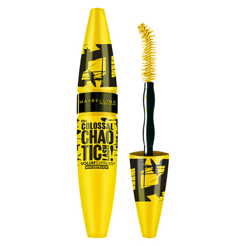 Maybelline Volum' Express The Colossal Chaotic Lash Waterproof Mascara, Blackest Black