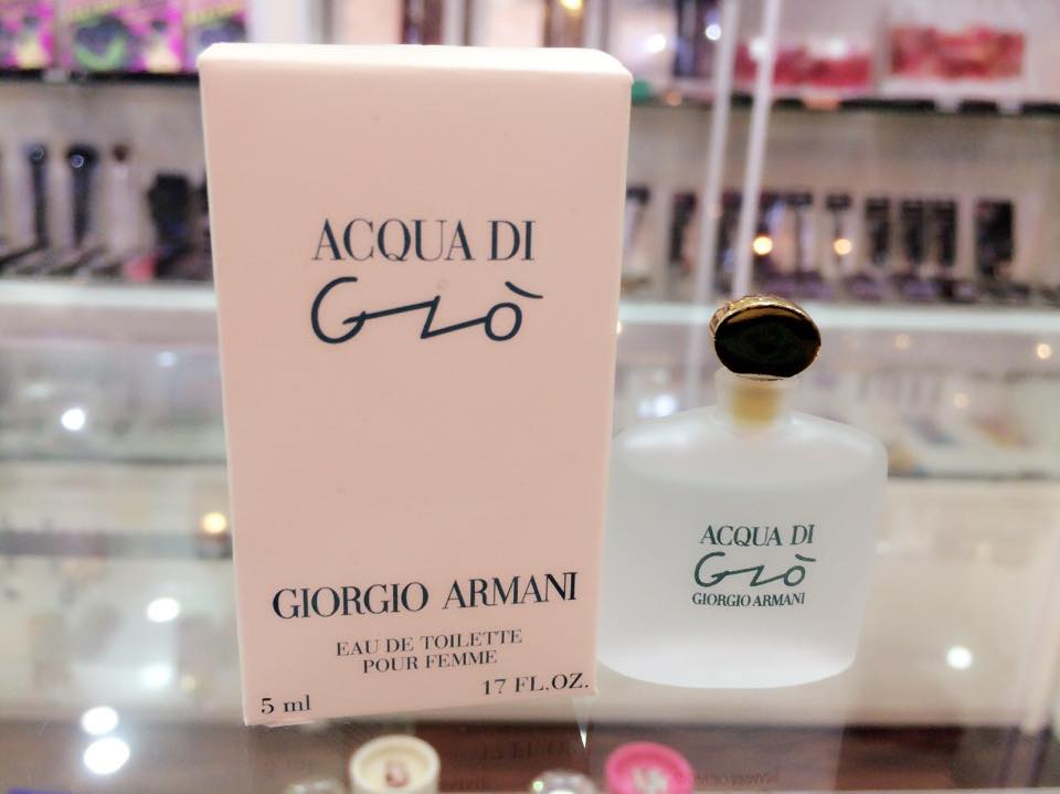 Acqua Di Gio by Giorgio Armani, 0.17 oz Mini EDT for Women