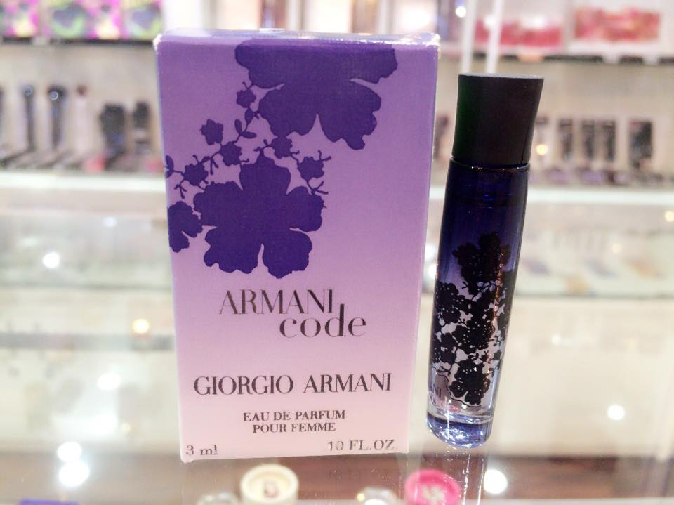Armani Code by Giorgio Armani, 0.1 oz Mini EDP for Women