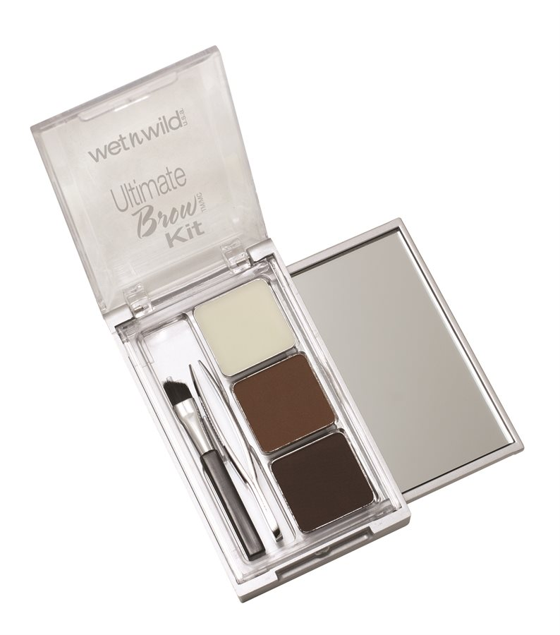 Bột tán lông mày Wet n Wild Ultimate Brow Kit Ash Brown 963