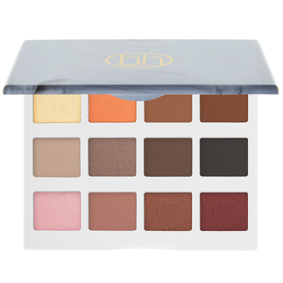 Bảng phấn mắt BH Cosmetic Marble Collection - Warm Stone - 12 Color Eyeshadow Palette