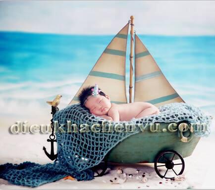 thuyền chụp ảnh