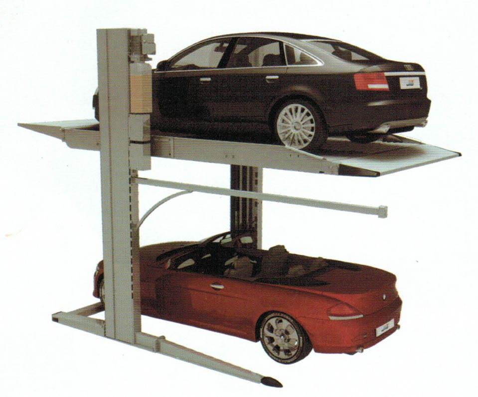 Cầu nâng đỗ xe gia đình GC-2.8TPA, cầu nâng đỗ xe giá rẻ