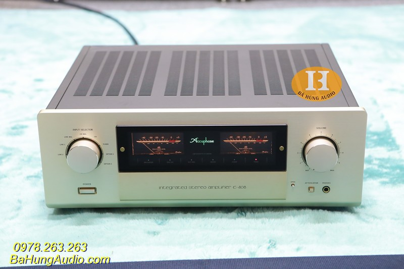 Amply Accuphase E408 Đẹp xuất sắc