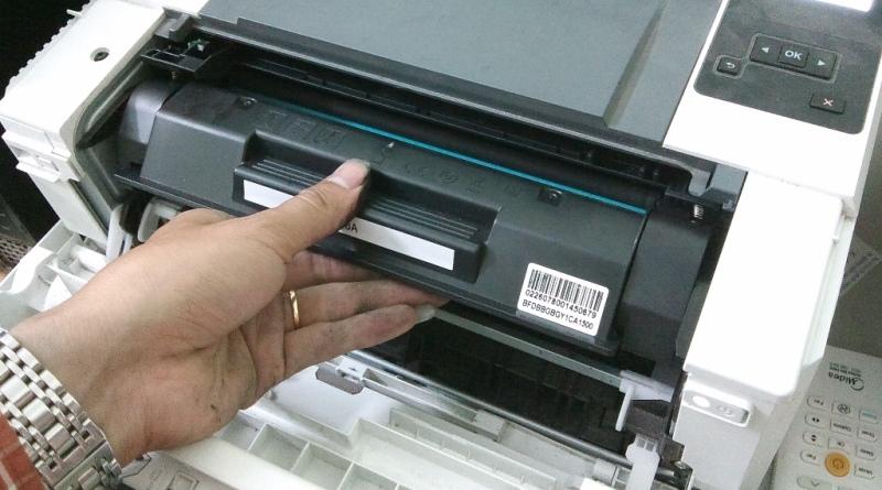 Đổ mực máy in tại Gia Thụy